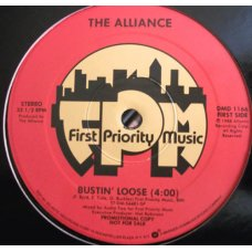"The Alliance - Bustin' Loose, 12"", Promo"