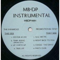 Mobb Deep - The Infamous (Instrumental), LP, Promo