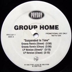 "Group Home - Suspended In Time / Tha Realness, 12"", Promo"