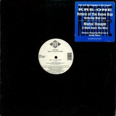 KRS-One - Return Of The Boom Bap / Mortal Thought, 12""