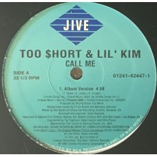 "Too $hort & Lil' Kim - Call Me, 12"""