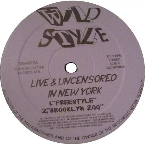 "Ol' Dirty Bastard & Das EFX - Wild Style - Live & Uncensored In New York, 12"", EP"