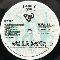 "De La Soul - Say No Go, 12"", Repress"
