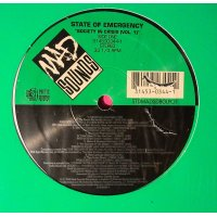 Various - State Of Emergency - Society In Crisis (Vol. 1), LP