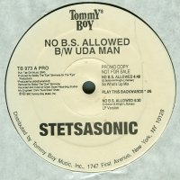 "Stetsasonic - No B.S. Allowed / Uda Man, 12"", Promo"