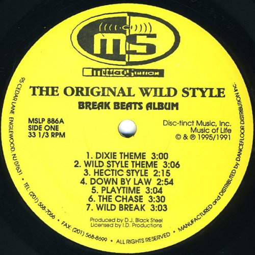 D.J. Black Steel - The Original Wild Style, LP