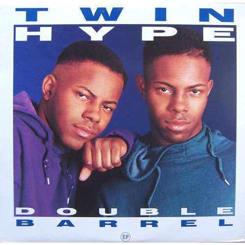 "Twin Hype - Double Barrel (EP), 12"", EP, Promo"