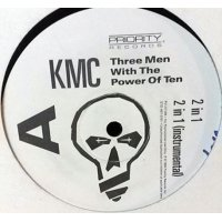 "KMC - Three Men With The Power Of Ten, 12"", Promo"