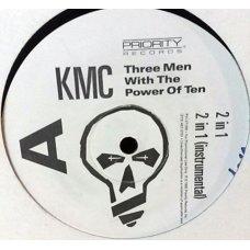 "KMC - Three Men With The Power Of Ten, 12"", Promo"