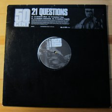 """50 Cent - 21 Questions, 12"""", Promo"""