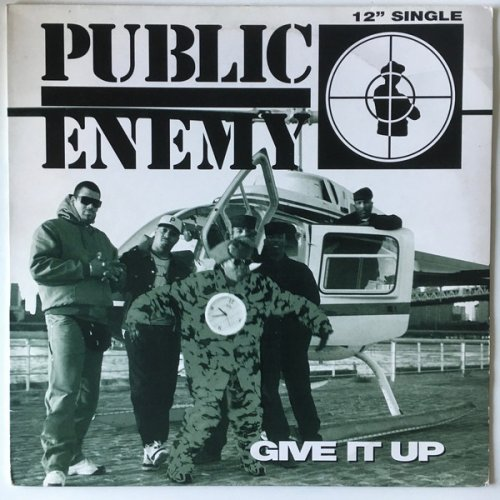 Public Enemy - Give It Up, 12""