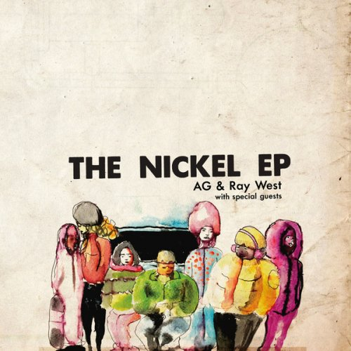 "AG & Ray West - The Nickel EP, 12"", EP"