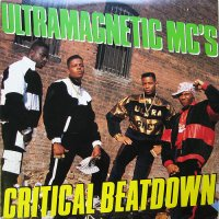Ultramagnetic MC's - Critical Beatdown, LP, Reissue