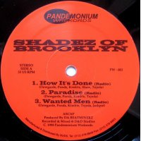 """Shadez Of Brooklyn - How It's Done / Paradise / Wanted Men, 12"""""""