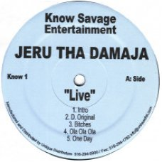Jeru The Damaja - Live, 2xLP