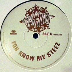 """Gang Starr - You Know My Steez / So Wassup?, 12"""", Promo"""
