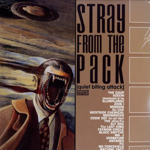 Various - Stray From The Pack (Quiet Biting Attack), 2xLP