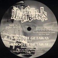 "The Delinquents - Smooth Getaway, 12"", Promo"