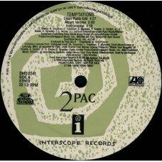 "2Pac - Temptations, 12"", Promo"