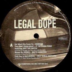 Various - Legal Dope, 2xLP, Promo