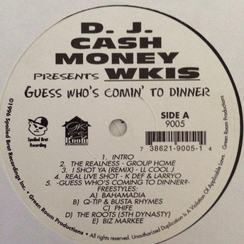 D.J. Cash Money - Guess Who's Comin' To Dinner, 2xLP
