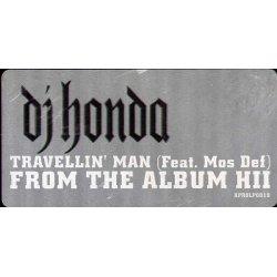 "DJ Honda Feat. Mos Def - Travellin' Man, 12"", Promo"
