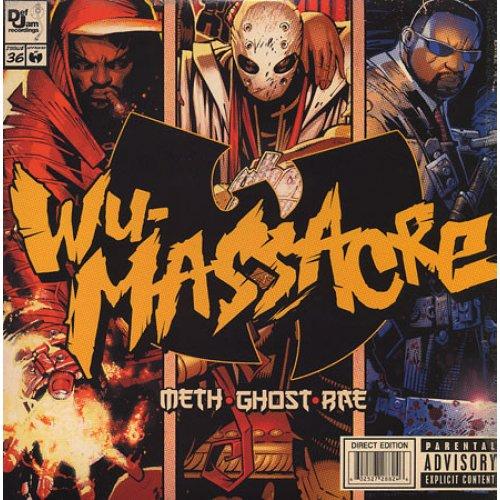 Meth • Ghost • Rae - Wu-Massacre, LP