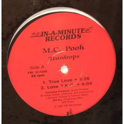"M.C. Pooh - Teardrops EP, 12"", EP"