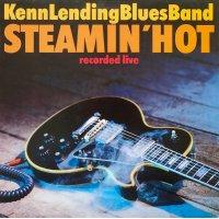 Kenn Lending Blues Band - Steamin' Hot, LP