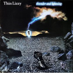 Thin Lizzy - Thunder And Lightning, LP