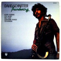 David Schnitter - Thundering, LP, Promo