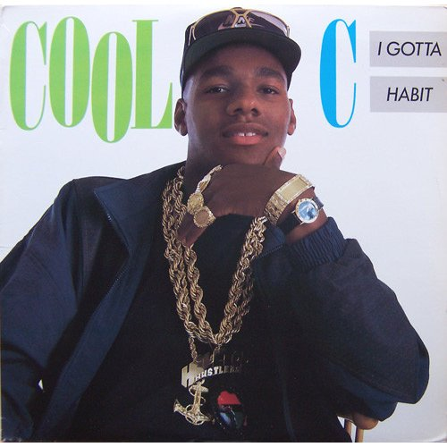 Cool C - I Gotta Habit, LP
