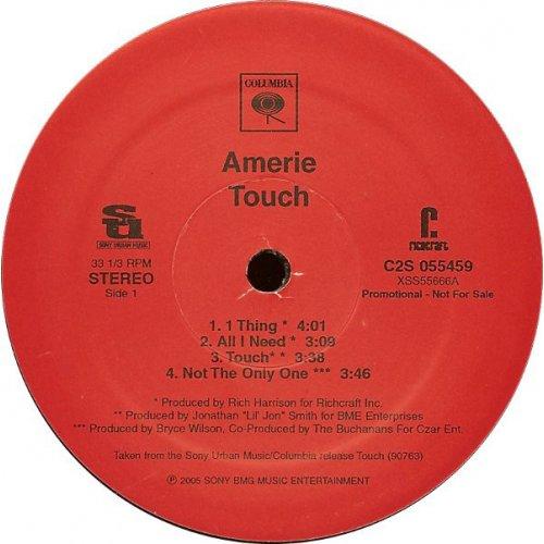 Amerie - Touch, 2xLP, Promo