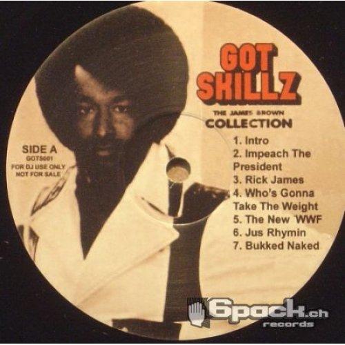 Skillz - Got Skillz - The James Brown Collection, LP, Promo