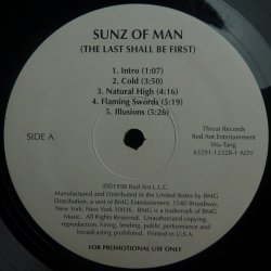 Sunz Of Man - The Last Shall Be First, 2xLP, Promo