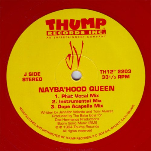 """JV - Nayba'hood Queen / Give It To Me JV / Slow Down, 12"""""""