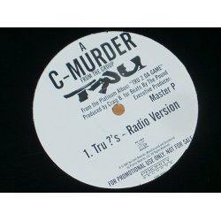 """C-Murder - Tru ?'s, 12"""", Promo"""