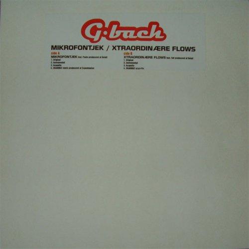 """G-Bach - Mikrofontjek / Extraordinære Flows, 12"""""""