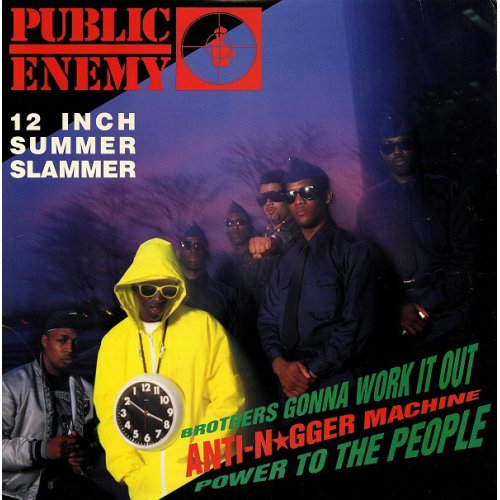 """Public Enemy - Brothers Gonna Work It Out, 12"""", Promo"""