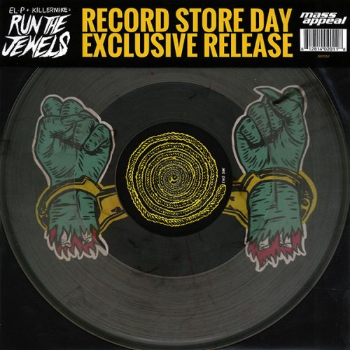 """Run The Jewels - Bust No Moves, 12"""""""
