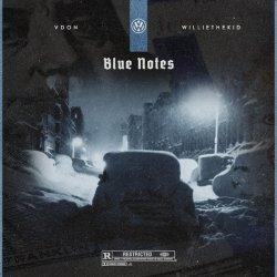 "V Don & Willie The Kid - Blue Notes, 12"", EP"