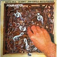 Solal - Konitz - Scofield - Ørsted-Pedersen - Four Keys, LP
