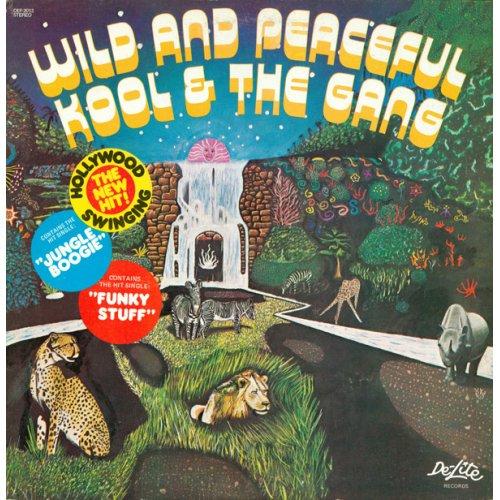 Kool & The Gang - Wild And Peaceful, LP, Repress