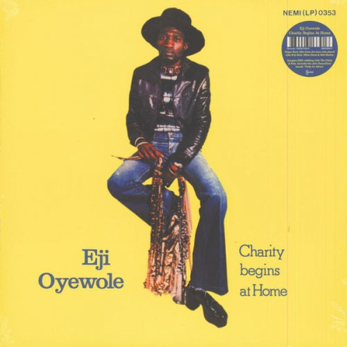 Eji Oyewole - Charity Begins At Home, LP, Reissue