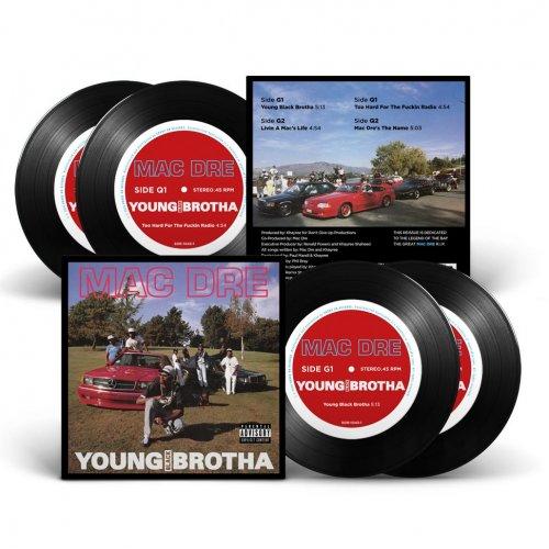 "Mac Dre - Young Black Brotha, 2x7"", EP, Reissue (Black)"