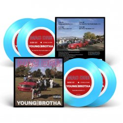 """Mac Dre - Young Black Brotha, 2x7"""", EP, Reissue (Colored)"""