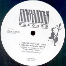 """No Name Requested - Colours, 12"""", Promo"""