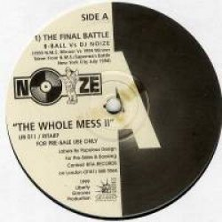 "DJ Noize - The Whole Mess Part 2 Sampler, 12"""