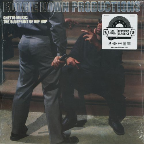 Boogie Down Productions - Ghetto Music: The Blueprint Of Hip Hop, LP, Reissue