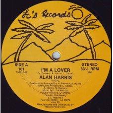 "Alan Harris - I'm A Lover, 12"""